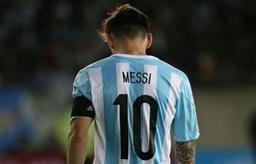 Le guardan la 10 a Messi