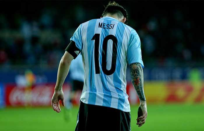 Lionel Messi. Foto: Twitter