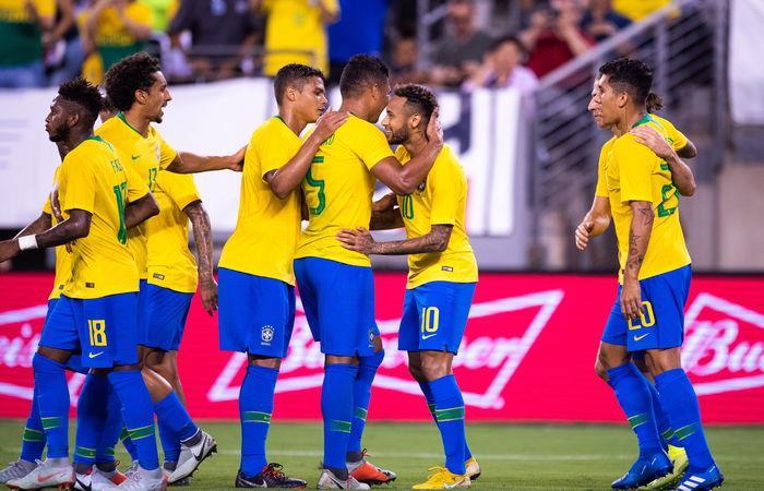 Brasil venció 2-0 a Estados Unidos (Foto: EFE)