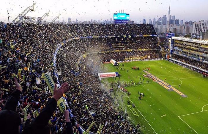 La Bombonera de Boca Juniors. Foto: AFP