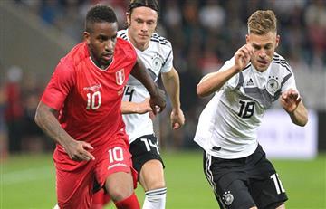 Alemania sufrió y derrotó a Perú sobre el final