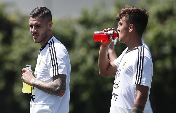 Mauro Icardi y Paulo Dybala. (FOTO: Twitter)