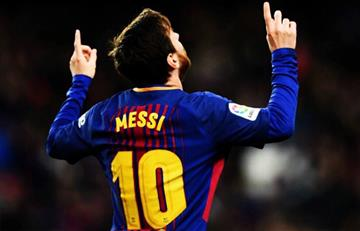 Luis Enrique rendido a los pies de Lionel Messi