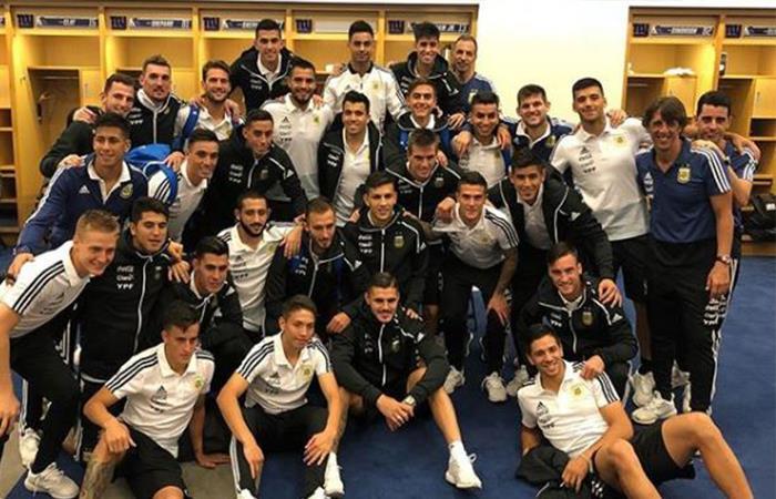 Selección Argentina. Foto: Twitter