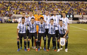 ¿Cómo jugó la Argentina sin Messi?