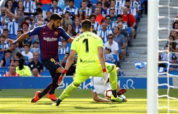 Rulli falló y el Barcelona lo voteó
