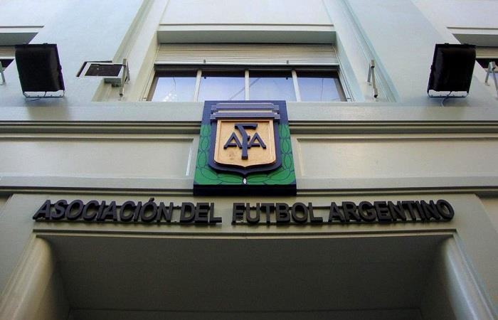 La sede de la AFA. (FOTO: Twitter)