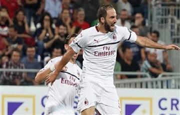 Higuaín también marcó su primer gol