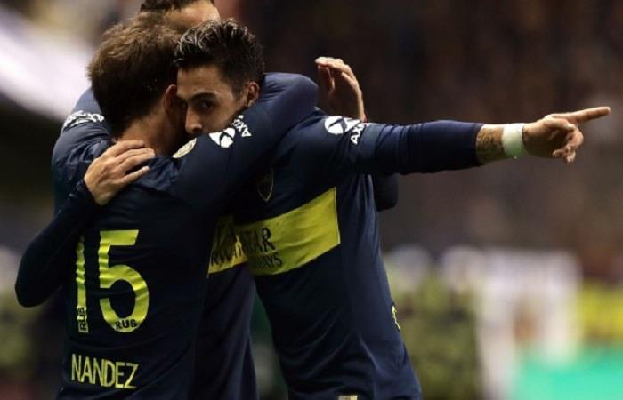 Boca Juniors está a un punto del líder. (FOTO: AFP)