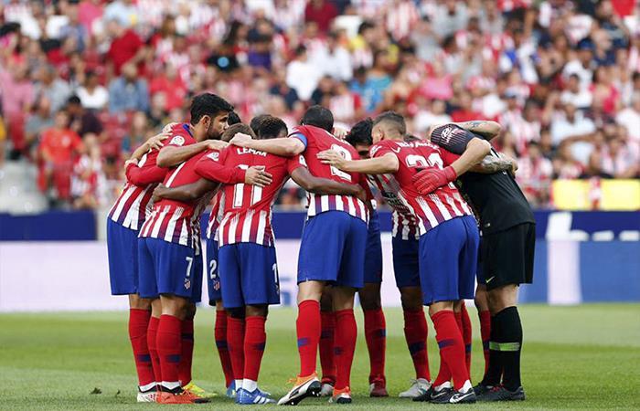 Atlético de Madrid vs Mónaco. Foto: Facebook