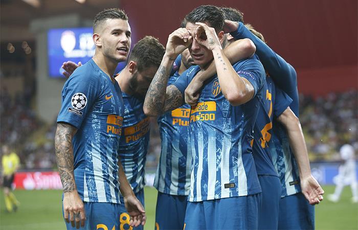 Champions League: Atlético de Madrid resurge en la Liga de Campeones