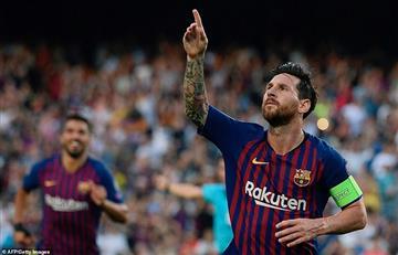 """Valverde: """"Es un alivio tener a Messi"""""""