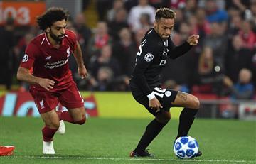 Los goles del partidazo entre el Liverpool y el PSG