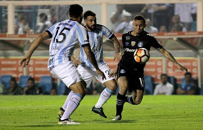 Atlético Tucumán cayó 0-2 ante Gremio (Foto: Twitter)