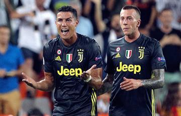 Ronaldo rompe en llanto por expulsión