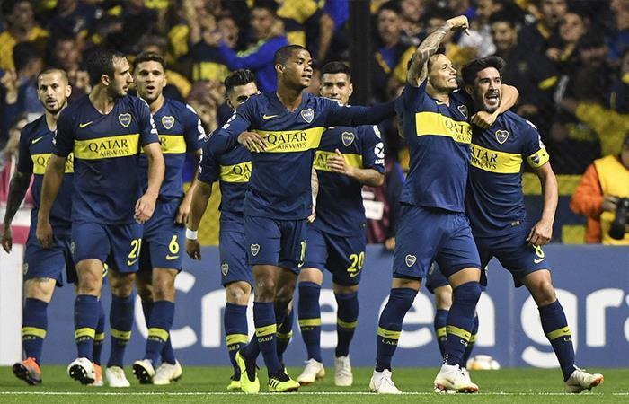 Boca Juniors venció 2-0 a Cruzeiro (Foto: Twitter)