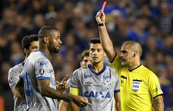 Cruzeiro reclamará ante la Conmebol. (FOTO: Twitter)