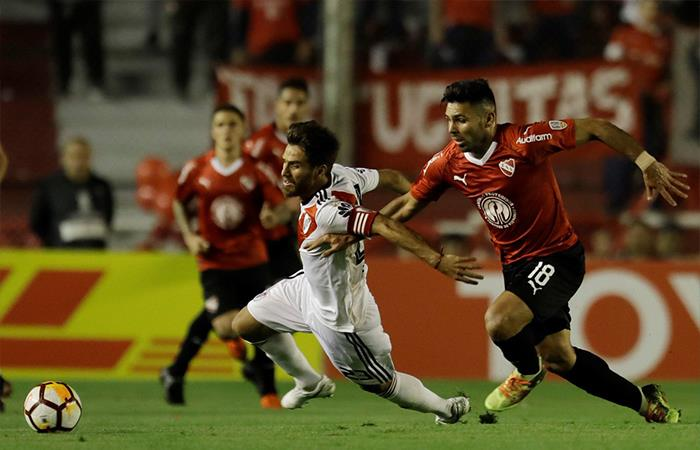 Independiente igualó 0-0 ante River Plate. Foto: Twitter