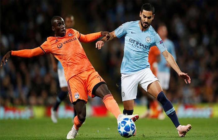 Manchester City cayó 2-1 ante el Olympique de Lyon. Foto: Twitter