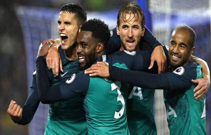 Lamela volvió a anotar con el Tottenham. (FOTO: AFP)