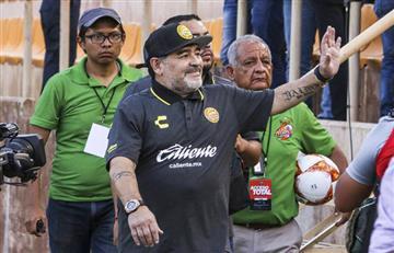 Maradona debuta en la Copa Mx