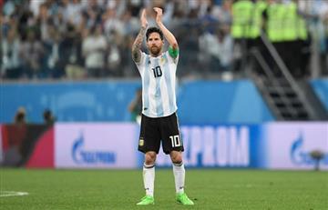 Messi en el once de la FIFA