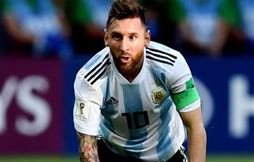 Messi queda fuera de la Argentina