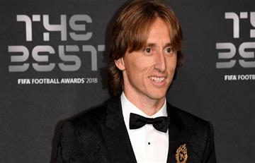 Luka Modric y sus emotivas palabras luego de se elegido el mejor del mundo