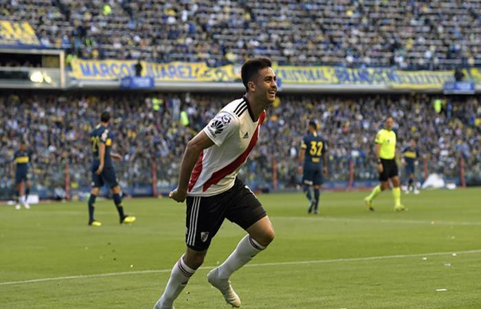 """River Plate: """"El 'Pity' Martínez, qué loco que está"""""""