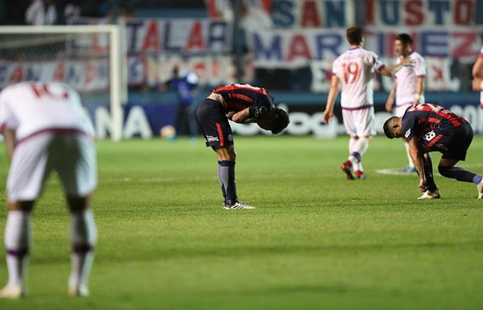 San Lorenzo cayó ante Nacional y quedó eliminado de la Copa Sudamericana