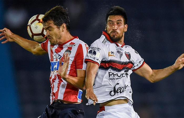 Colón cae 0-1 ante Junior. Foto: Twitter