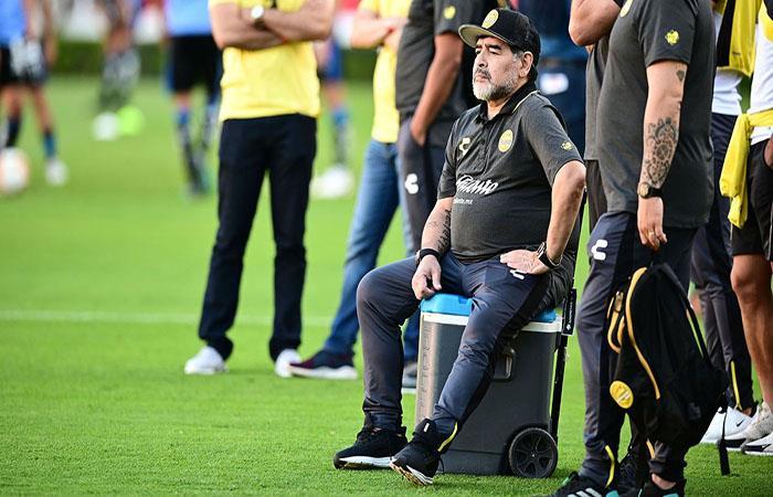 Diego Armando Maradona. Foto: Twitter