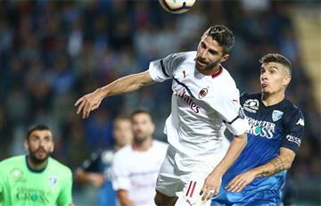 Milan de Gonzalo Higuaín sigue sin despegar en la Serie A