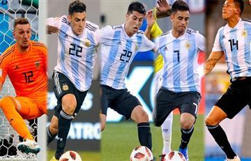 Los ocho de la Superliga en la 'albiceleste'