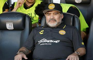 El show de Maradona en el triunfo de Dorados