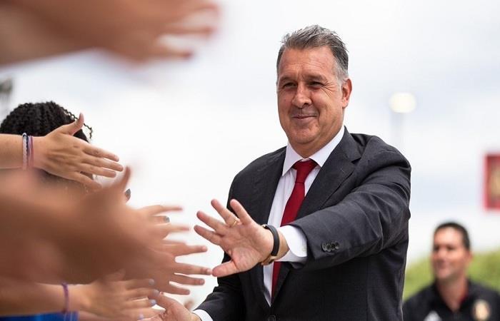 Gerardo 'Tata' Martino. Foto: AFP