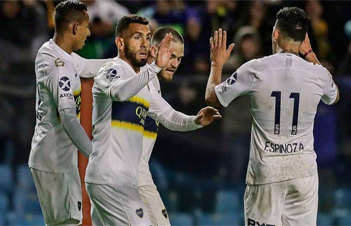 Boca Juniors venció 3-1 a Colón (Foto: Twitter)