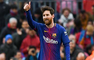 Lineker le tira flores a Messi
