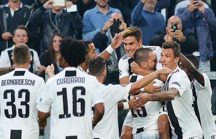 Juventus venció 3-0 al Young Boys. Foto: EFE