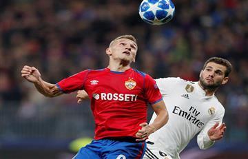 Batacazo: el CSKA derrotó al Real Madrid por la Champions