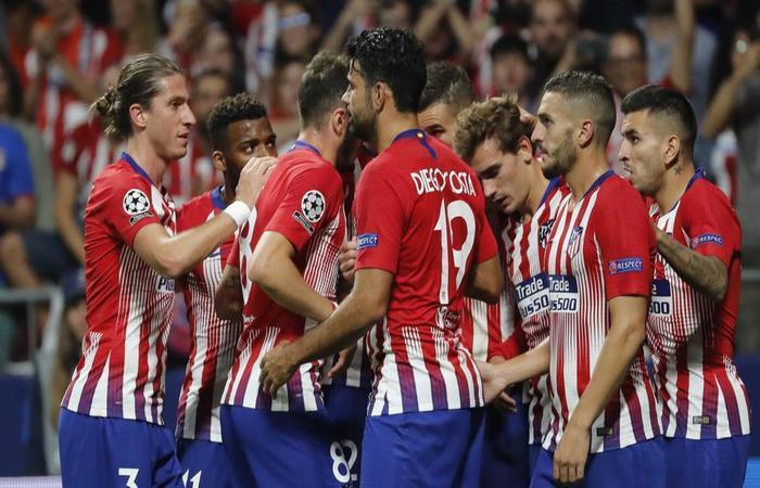 Atlético de Madrid golea al Brujas y asegura un cupo a la siguiente fase de la Champions