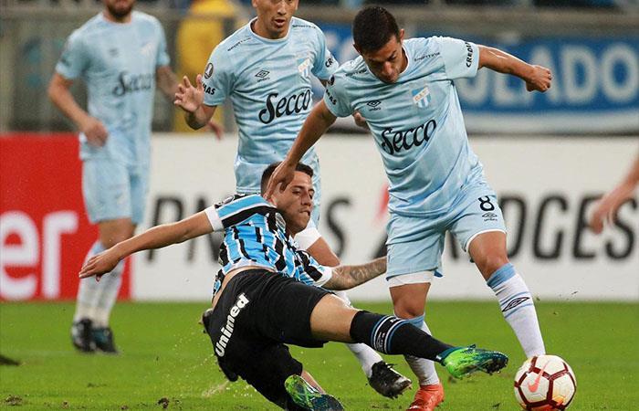 Gremio venció 4-0 a Atlético Tucumán (Foto: Twitter)