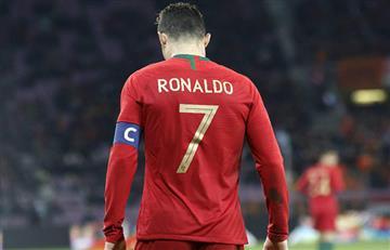 Ronaldo separado de Portugal