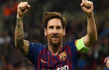 Habló Messi