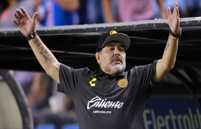 Diego Maradona. Foto: Twitter