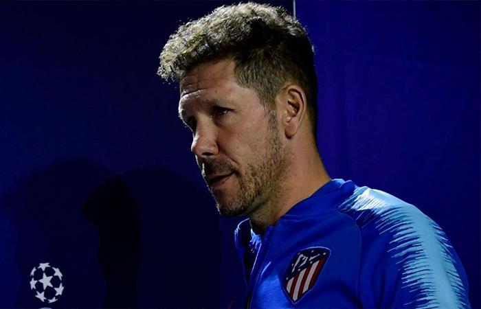 Diego Simeone. Foto: Twitter
