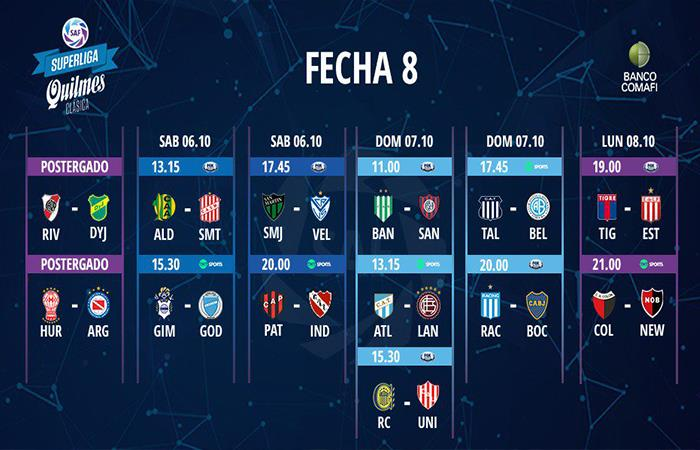 Superliga Argentina. Foto: Twitter