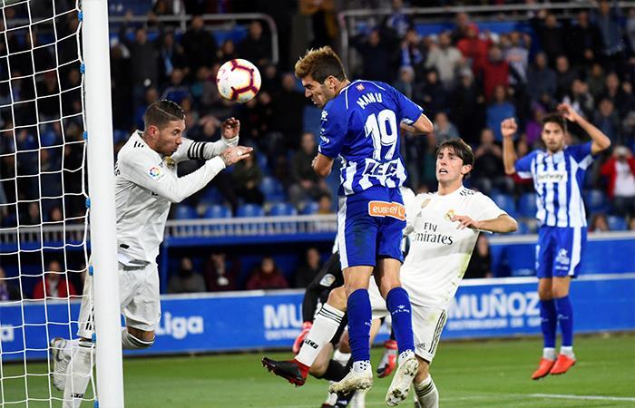 Alavés venció 1-0 al Real Madrid (Foto: EFE)