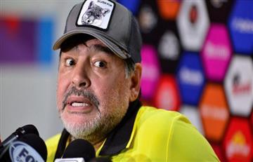Maradona y su trabajo