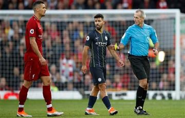 El City erró un penal sobre el final y empató con Liverpool